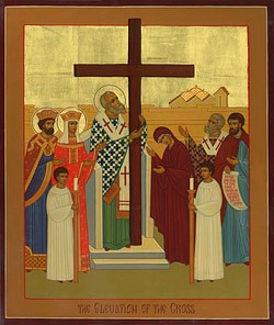 Icon of Pentecost by the hand of Robin Armstrong